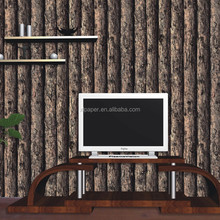 factory sell China cheap home decor 3D wood wallpaper designs