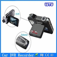 hot sale radar detector and car DVR camera record Russia & English spanish arabic french for car speed limited