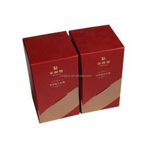 Cardboard box for tea packaging