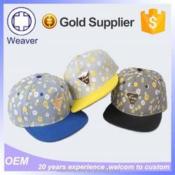 New Product Custom Gold Plate Metal Logo Snapback Hats Wholesale