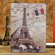 Updated England Style Effiel Tower Tablet Cases for Apple Ipad Air