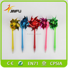 Children prmotional pen gifts windmill magic pen best ballpoin pen