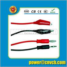 4mm high current connector set (banana plug)/banana plug connector
