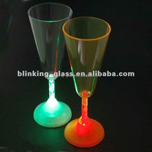 LED flashing cup lighted up champagne glass