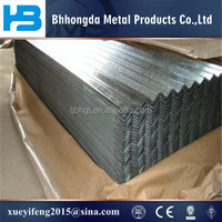 Pre-painted corrugated steel sheet for roofing and wall
