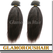 Virgin Remy Hot Sale Yaki Human Hair Wet And Wavy