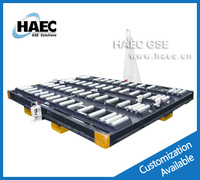 7T Airport Pallet trailer Container Dolly HPD0701 FOR P1P, P6P, LD8, LD3