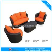 U outdoor rattan furniture leisure garden sofa (6422 )