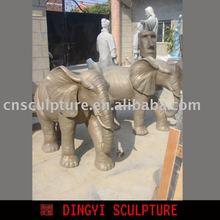 outdoor elephant sculpture