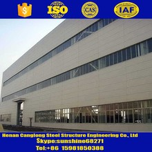 China supplier steel structure factory