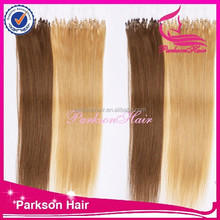 6A Grade Wholesale Malaysian Micro Loop Straight Extensions Cheapest Top Quality Human Hair Extensions