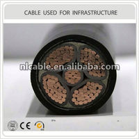 thin steel wire armoured Medium voltage electric cable