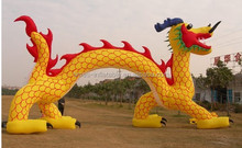 New design special advertising inflatable dragon
