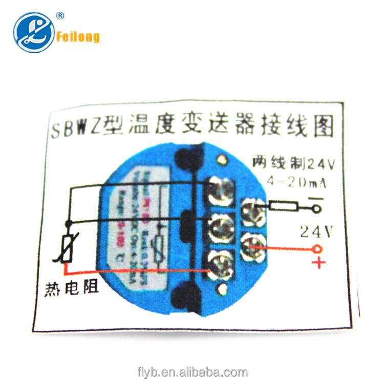 4-20ma Pt100 Temperature Transmitter - Buy 4-20ma Pt100 ...
