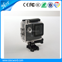 2015 New arrive Ultra HD 4K Video 170 degrees Wide Angle Sports Camera 2-inch Screen 1080p 60fps 4K Camera
