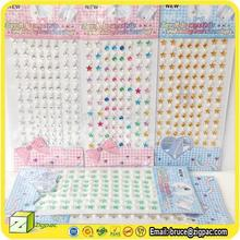 RS001250,heart crystal sticker,crystal gem stickers