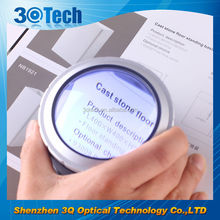 DH-86001 tabletop magnifying glass and mirror led touch magnifier