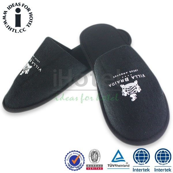 Hotel Terry Fabric Embroidery Slipper