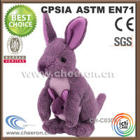 Various fashion and cute design custom stuffed animals kangaroo