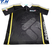 High quality polyester sublimation dri fit custom polo shirt