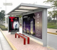 High quality antique pop up fishing bus stop shelter