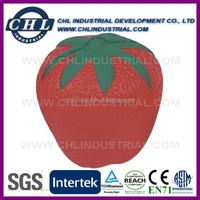Wholesale customized strawberry shape stress ball