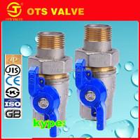QV-SY017 ISO 228 CE mini brass float ball valve