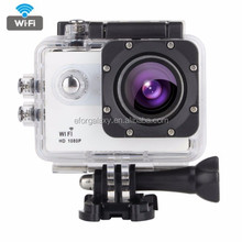 2.0 inch LTPS Screen Sports Video Camera, Support WiFi, 170 Degrees Wide Angel