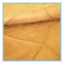 Quilting woven faux suede fabric