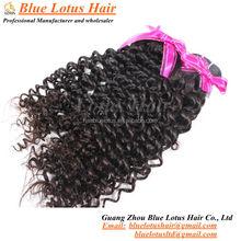 2015 Grade 7A new arrival kinky curl Virgin Brazilian human hair weaving