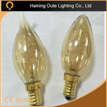 Retro style models newest design lamp 2015 c35 candle bulb