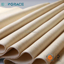 Heat resisting aramid filter cloth for tobacco industry