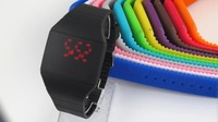 Elegant Shape LED Touch Screen Watch Manufacturers Made In China Colorful Attractive Design