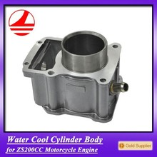 ZS200cc Motorbike Cylinder Block motorcycle factories spare parts china