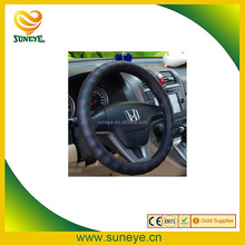 Breathable Leather Car Steering Wheel Covers