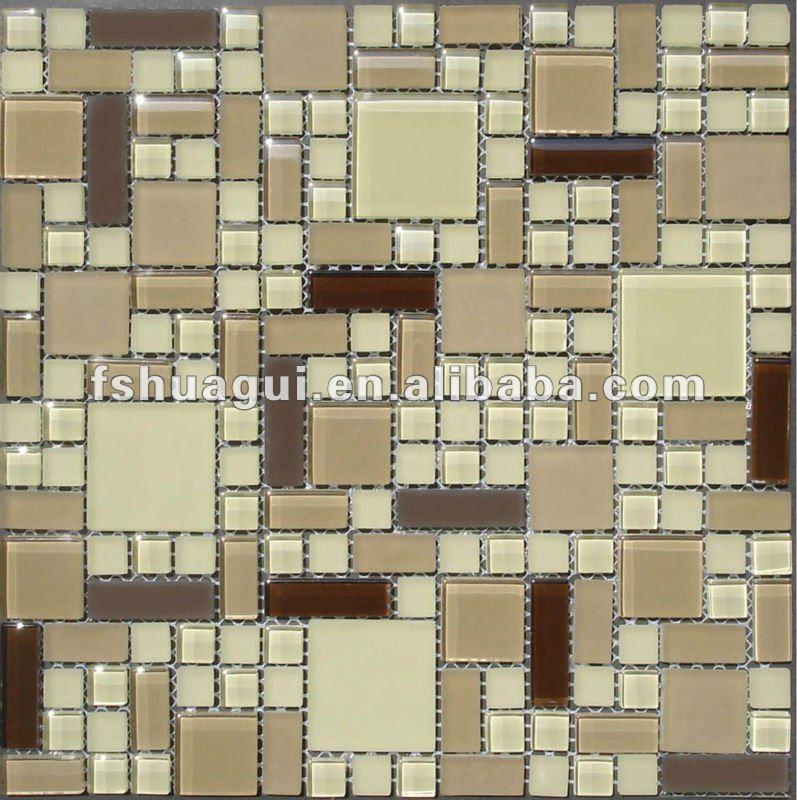 Azulejos De Vidrio Para Baño:Glass Mosaic Tile