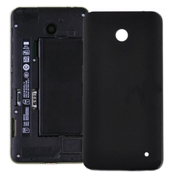 Battery Back Cover Replacement for Nokia Lumia 630(Black)