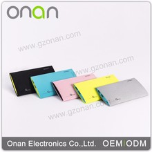High quality mobile lithium polymer wallet power bank
