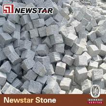 Natural split G654 grey granite pavers