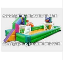 Inflatable court use football or basketball play SP-CU019