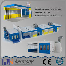China Shandong CE Approved used car spray booth for saleauto paint boothauto paint booth with one year warranty