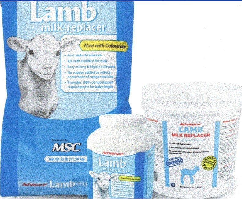 lamb milk replacer mixing instructions