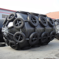 Yokohama marine rubber fender with high energy absorption and low reaction force