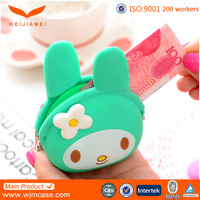 Fashionable color new bulk wholesale silicone coin purse in China market products