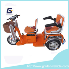 2015 new electric charging tricycle/3 wheel scooter for adults