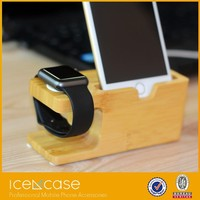for apple watch charging station,2015 newest fashional wooden stand for apple watch