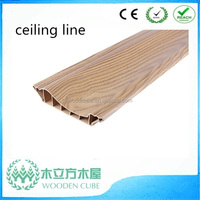 WPC like wood ceiling cornice, wpc ceiling cornice
