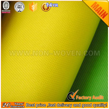 Good Quality eco friendly product spun bond polypropylene non woven Fabric(15g-260g)