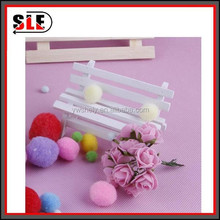 cheap multi-color christmas pompon for promotion gifts