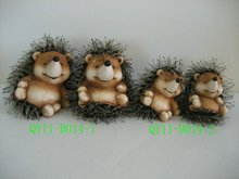 Hedgehog decoration for 2012 QY11-B014-1-2